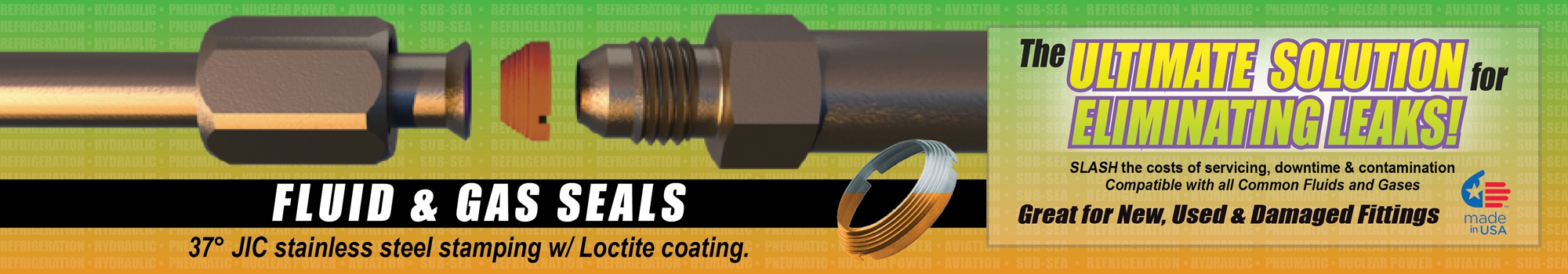Flaretite Seal | Ultimate Solution for Hydraulic Leaks!